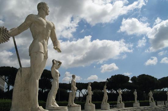 Estadio olimpico. Roma. Foto R.Puig