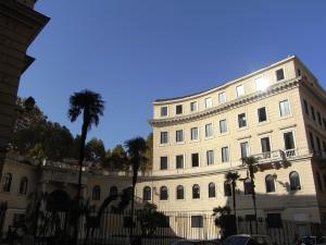 La Accademia di Belle Arti desde Via Ripetta. Foto R.Puig.