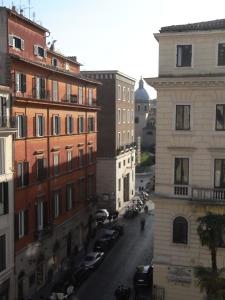 La Via Ripetta desde las ventanas de la Accademia. Foto R.Puig.