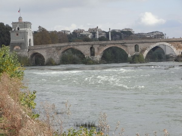 Ponte Milvio. Foto R.Puig.