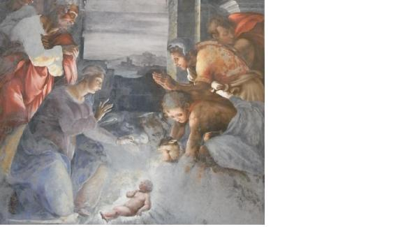 Natividad en la Trinita dei Monti. Foto R.Puig.