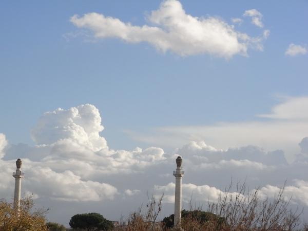 Nubes de Roma.Foto R.Puig