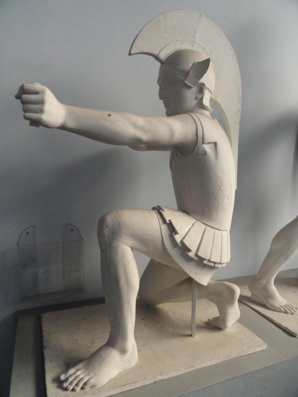 El arquero.Gipsoteca de Roma. Foto R.Puig.