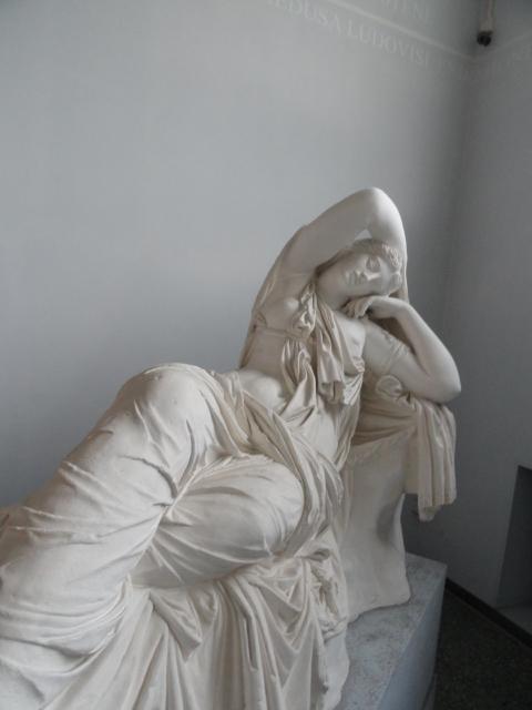 El sueño de Ariadna. Gipsoteca de Roma. Foto R.Puig.