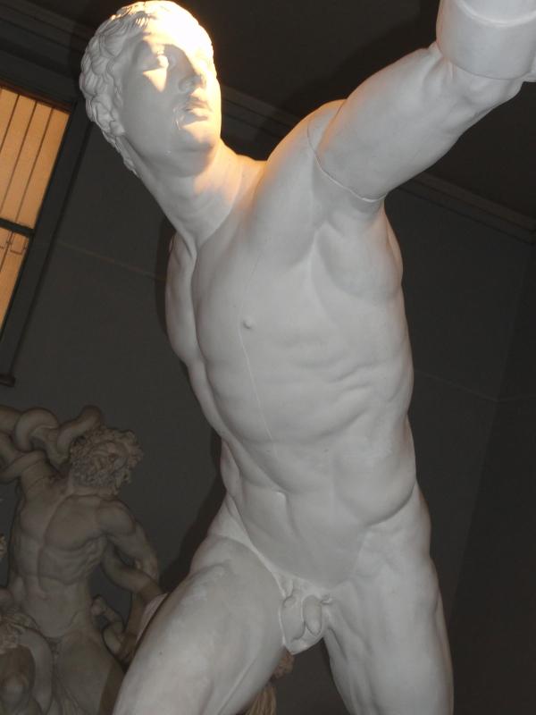 Gipsoteca de Roma. El gladiador Borghese. Foto R.Puig.