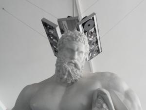 Gipsoteca de Roma. El Hércules Farnesio. Foto R.Puig.