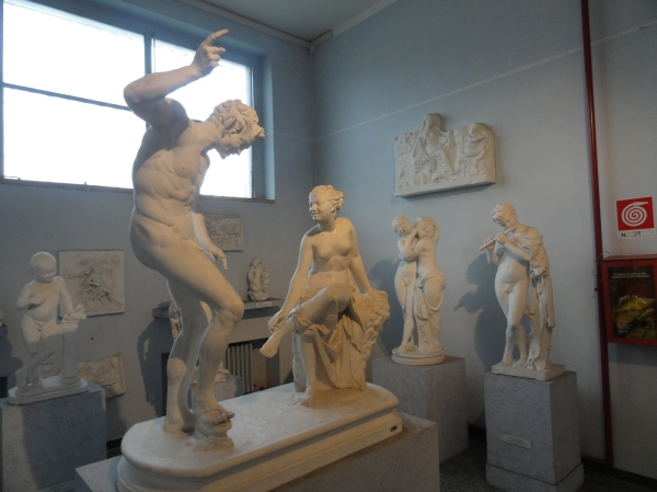 Gipsoteca de Roma. Invitación a la danza. Foto R.Puig.