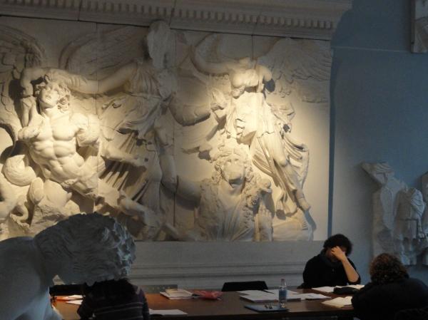Gipsoteca de Roma. Sala de estudio.Foto R.Puig.