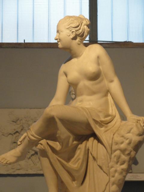 Invitada a la danza. Gipsoteca de Roma. Foto R.Puig.