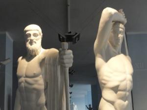 Los tiranicidas. Gipsoteca de Roma. Foto R.Puig.