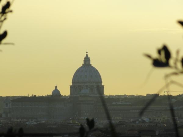 Atardece en Roma. Foto R.Puig