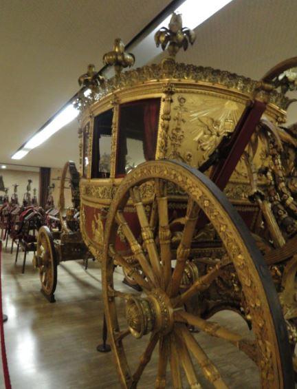 Carroza de León XII. Museos Vaticanos. Foto R.Puig