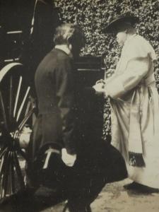 Pío X se sube a su carroza