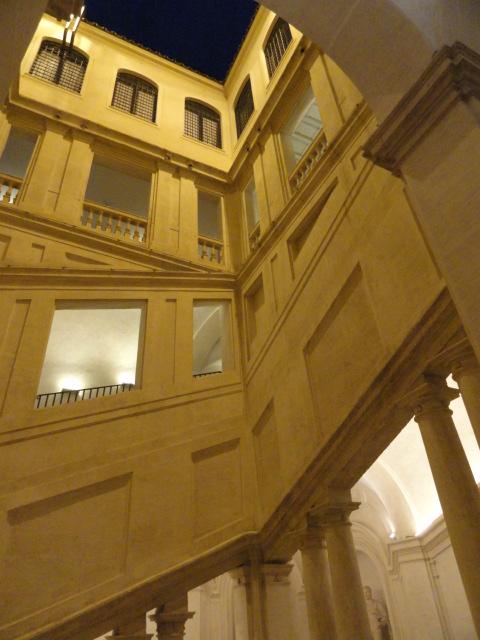 Escalinata de Borromini. Palazzo Barberini. Foto R.Puig