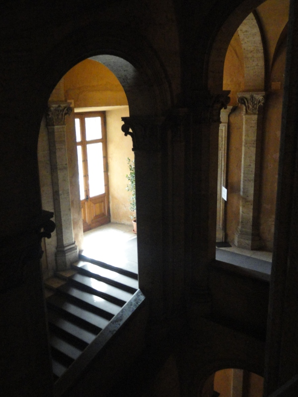 La escalinata de Palazzo Venezia. Foto R.Puig