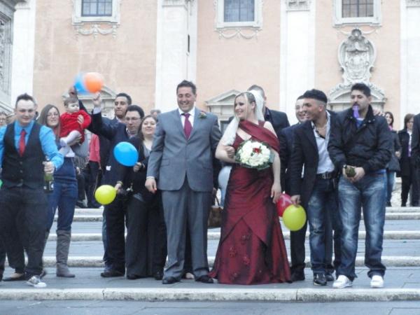 Foto de boda. Campidoglio. Foto R.Puig