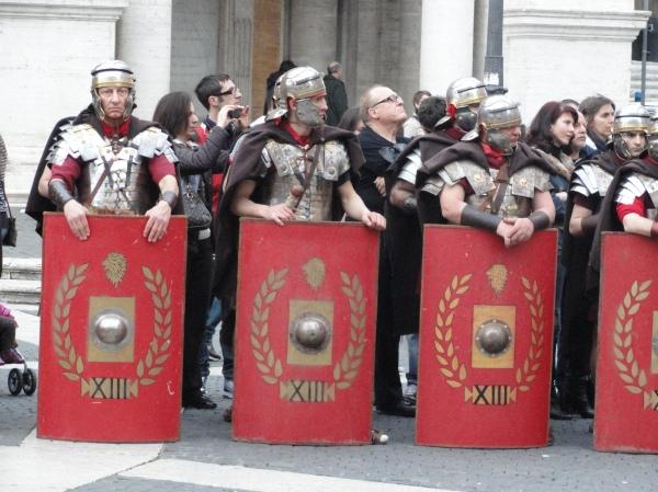 Pretorianos del siglo XXI. Foto R.Puig