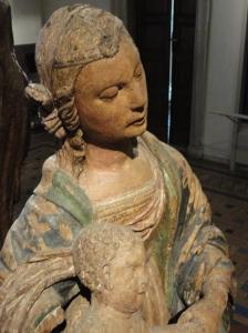 Virgen con el niño. S.XV. Palazzo Venezia. Foto R.Puig