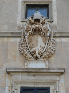 Entrada principal de Villa Aldobrandini