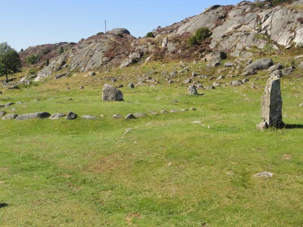 Enterramientos de la Edad de Hierro. Pilane. Foto R.Puig.