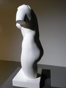 Bruselas.Museo de Bellas Artes. Vaciado del torso de  Cherchell Venus capitolina 2 Foto R.Puig.