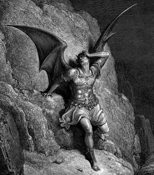 Gustave Dore. Satan