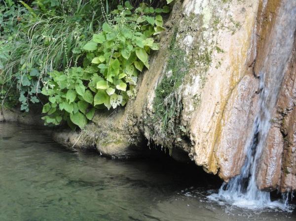 Licenza la cascada  del Parque Regional Foto R.Puig