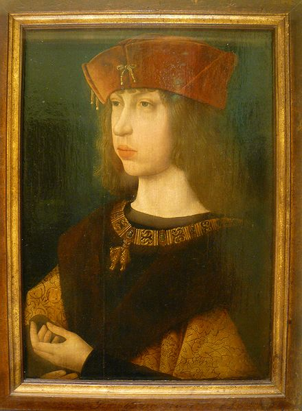 Felipe el Hermoso 1501. Louvre. por el Maestro de la Leyenda de Maria Magdalena