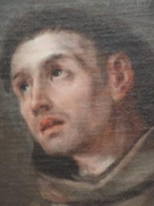 an Antonio de Padua. Valdes Leal. s.XVII. Museo Bellas Artes Valencia. Detalle. Foto R.Puig.J