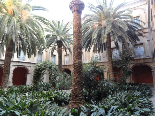 Claustro del Museo de Bellas Artes de Valencia.Foto R.Puig