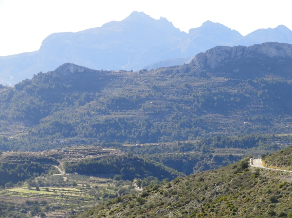 Desde el Col de Rates. Foto R.Puig.