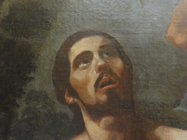 Martirio de San Marcelo. Jeronimo Jacinto de Espinoza. S. XVII. Museo Bellas Artes Valencia. Detalle. Foto R.Puig
