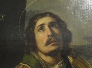 Urbano Fos. San Lorenzo. S.XVII. Museo Bellas Artes Valencia. Detalle. Foto R.Puig.