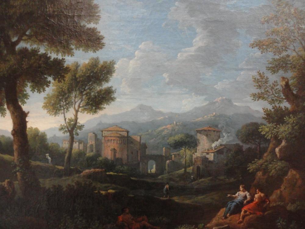 En el Museo de Bellas Artes de Valencia (II). Paisajistas de Roma y Holanda entre los siglos XVII y XVIII (4/6)