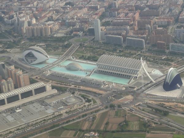 La llamada Ciudad de las Artes y las Letras. Valencia. Foto R.Puig