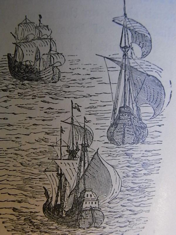 Royal Readers III. Las carabelas de Colon. Foto R.Puig.