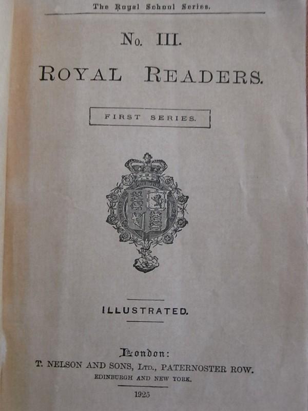 Royal Readers III.Portada interior. Foto R.Puig