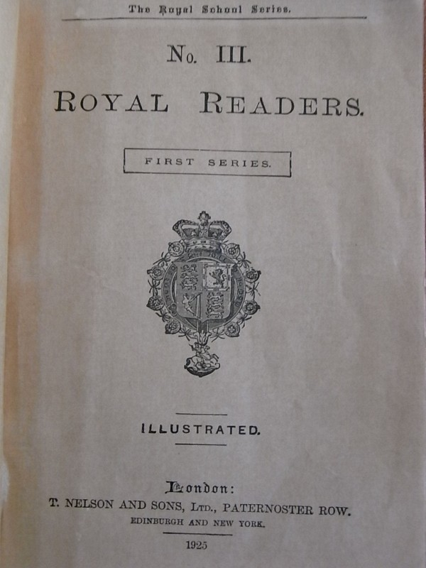 Royal Readers III.Portada interior. Foto R.Puig