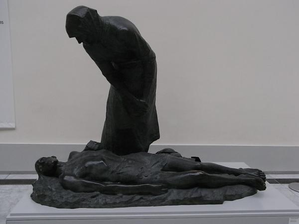 Constantin Meunier. Le grisou.1888-1890. Beaux Arts.Bruxelles. Foto R.Puig.