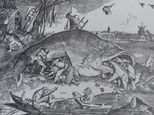 El pez grande se come al chico.Brueghel