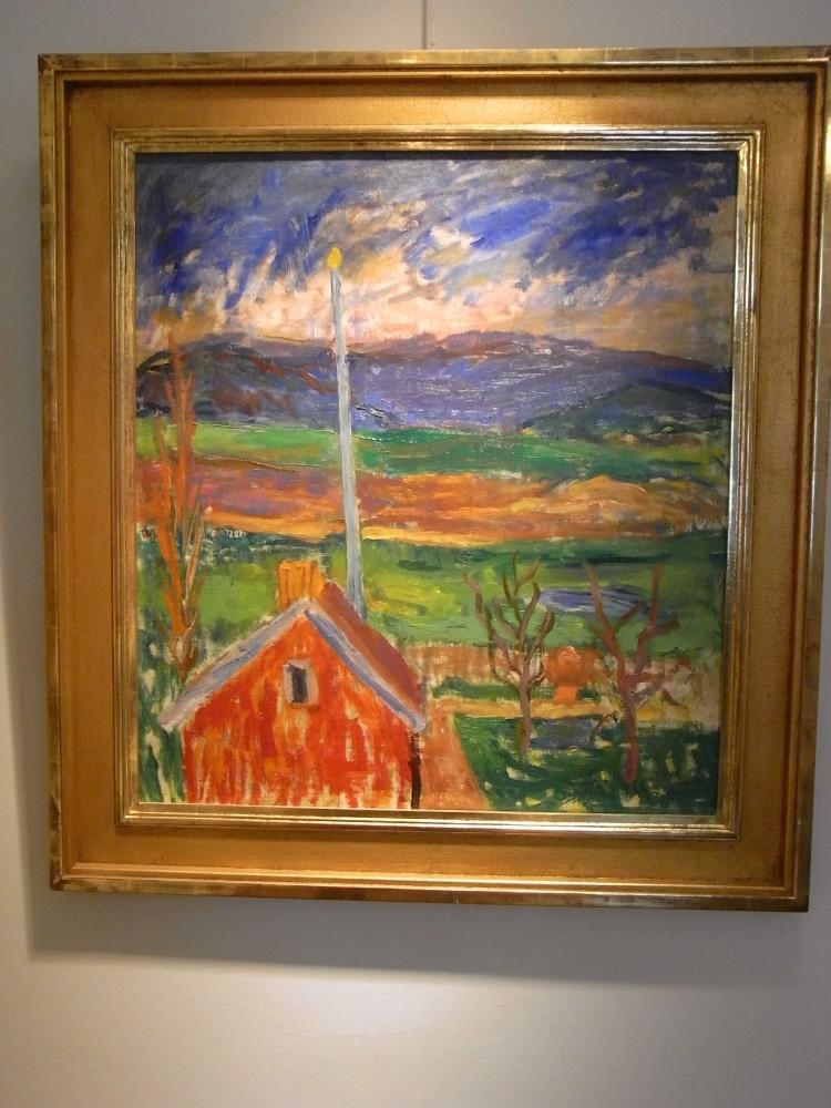 El color en la pintura sueca de la primera mitad del siglo XX (I): Los coloristas de Gotemburgo (6/6)