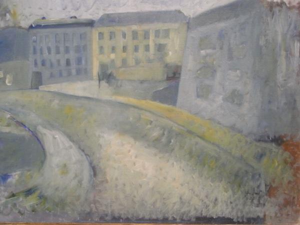 Åke Göransson. Calle.Museo BBAA.Gotemburgo. Foto R.Puig