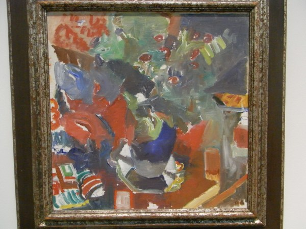 Åke Göransson. Lirios.Museo de Bellas Artes.Gotemburgo. Foto R.Puig