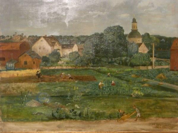 Erik Hallstrom. Solna. Museo de Bellas Artes de Gotemburgo