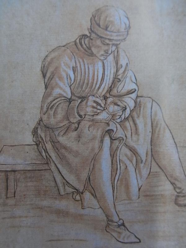 """Maso Finiguerra. s.XV.""""Uno buono disegnatore"""".Uffizi"""