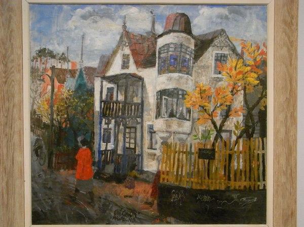 Olle Olsson Hagalund. El estudio de Dauber.Museo de Bellas Artes.Gotemburgo. Foto R.Puig.JPG