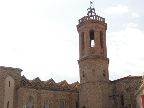 Campanario de la Iglesia de San Felix.Sabadell.Foto R.Puig