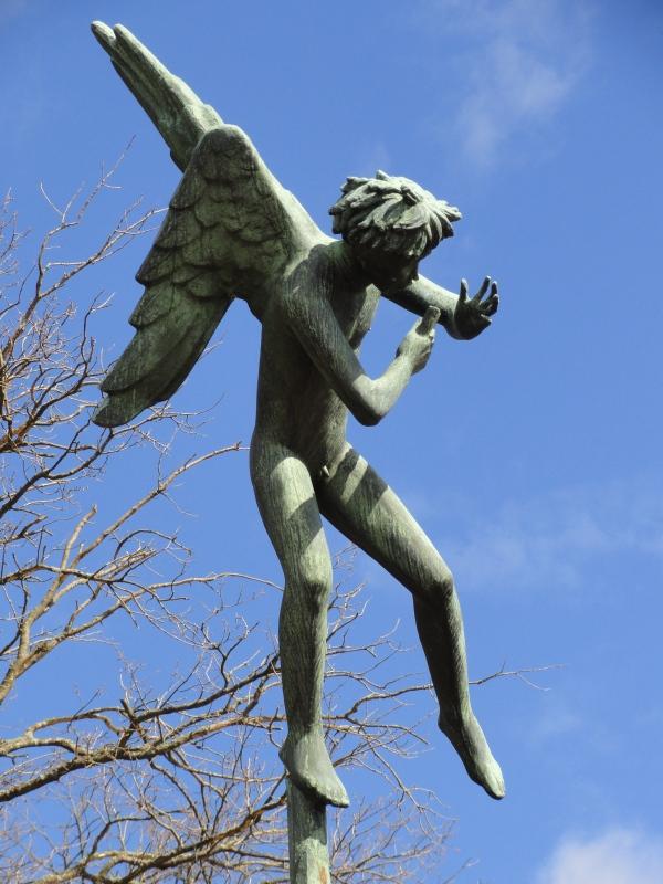 Carl Milles. Angel musico. Millesgården.Foto R.Puig