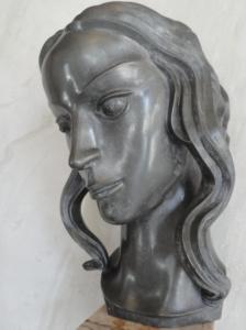 Carl Milles.Cabeza de Eurídice. 1936. Millesgården.1936.