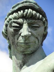 Carl Milles.Poseidon.Detalle.Millesgården.Foto.R.Puig